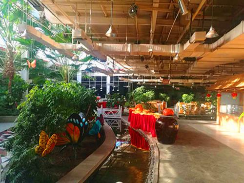 红栌温泉山庄生态餐厅